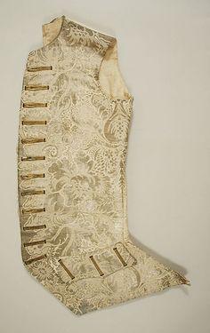 Ensemble, Waistcoat, Date: 17th century Culture: Italian Medium: silk Accession Number: C.I.63.26a–f