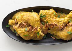 Chicken in Garlic-Almond Sauce - Bon Appétit