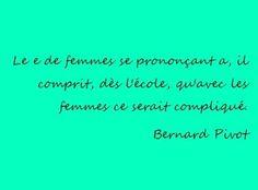 Femme - Bernard Pivot