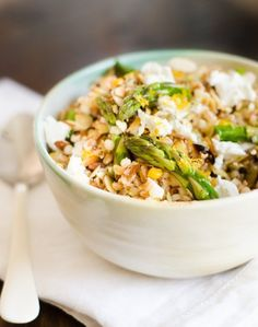 Recipe: Spring Grain Salad with Asparagus & Meyer Lemon — Lunch Recipes from The Kitchn | The Kitchn
