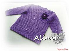 Сиреневое вязание для дочки. - Вязание - Страна Мам