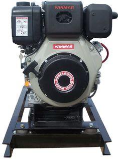 Slow-Turning 5 kW Yanmar Diesel Generator Small Diesel Generator, Homemade Tractor, Generators, Alternative Energy, Diesel Engine, Boating, Solar Power, Tractors, Turning