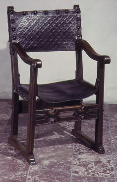 Armchair; 16th Century; Spain; Walnut; MET