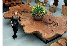 Treibholz Tisch Selber Bauen Ausschnitt