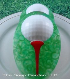 Soap  Fore Golf  Ball Soap  Glycerin Soap  Handmade by SoapGarden, $6.00