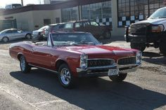 1967 Pontiac Tempest Convertible 455 4 speed in for transmission repair and light engine work.