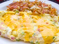 Denver omelet from Sam's No. 3 in Denver, Colorado.