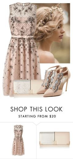 """""""Sin título #974"""" by kthrin ❤ liked on Polyvore featuring Valentino, River Island and Olgana"""