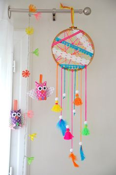DIY Attrape-rêves Dreamcatcher
