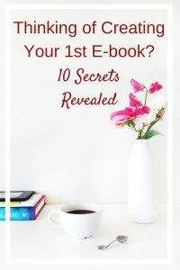 The Ultimate Guide to Creating Your 1st E-book will walk you through all you need to know from the time you have an idea to the creation and promotion of it.
