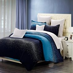 North Home Bedding Starlight 250-Thread Count Duvet Cover Set | Lowe's Canada