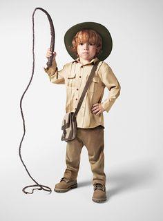 Disfraz Infantil casero de Indiana Jones ¡Y a buscar tesoros!