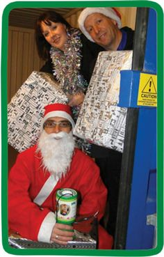 Our News - Children's Hospice South West | A Barnstaple self-storage firm is offering Father Christmas some extra help storing the presents this Christmas – all in aid of Children's Hospice South West. #chsw #daintons #elfstorage