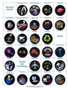 Owl & Toadstool: GGC Guide Badges