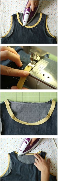 French Bias Binding Technique