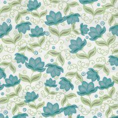"""Anabelli"" floral (azul)"