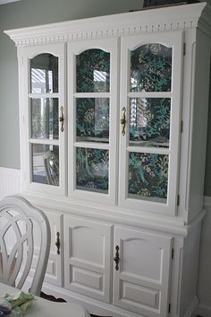 painted china cabinet - Google Search