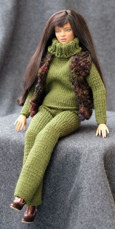 """Hand knit, original design outfit for 16"""" Tonner doll   Dolls & Bears, Dolls, By Brand, Company, Character   eBay!"""