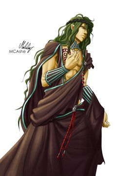 Hades Aidoneus by MCAshe