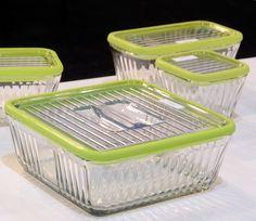 Glass Storage from Duralex, Anchor Hocking  Bodum International Home  - food storage not using plastics