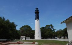 6. Hunting Island Light - Located in Hunting Island State Park east of Beaufort. Coordinates: 32°22′30″N 80°26′18″W