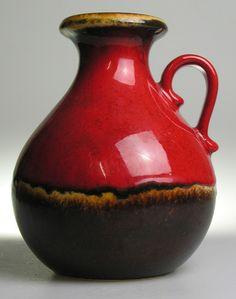 Scheurich West German Pottery Ceramic Modernistic Mid Century