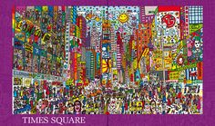 James Rizzi - time square