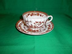 Two 2 Footed Bone China Tea Cups & Saucers by EdChandlerEnterprise
