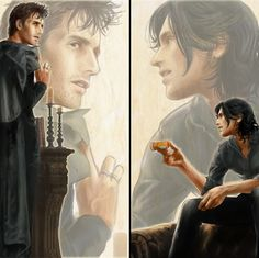 dresden files - Brothers  Oh, my gosh. By far the best illustrator for the Dresden bros. :D