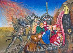 Artesplorando: Capolavori della miniatura - il Leggendario Sforza... Medieval Art, Opera, Miniatures, Painting, Wolves, Novels, Rome, Opera House, Painting Art
