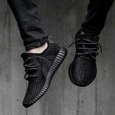 Resultado de imagen para adidas yeezy boost 350 black