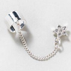 Shining Star Stud Ear Cuff | Claire's