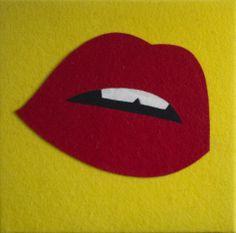 Warhol, Felt, 40x40cm, 2kvadrata.com