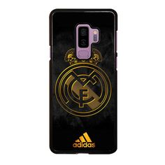 REAL MADRID GOLD Samsung Galaxy S9 Plus Case Cover - Black / Rubber