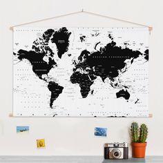 Wereldkaart poster kopen? Dit zijn de allerleukste wereldkaarten!
