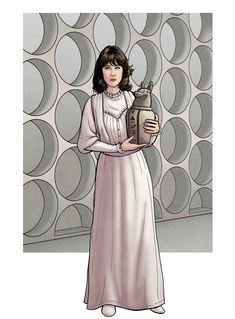 """""""Victoria wore it. She travelled with me for a time. """" Sarah Jane (Pyramids of Mars) Sarah Jane Smith, Doctor Who Wallpaper, New Doctor Who, Bad Wolf, Dr Who, Mars, Madness, Pop Culture, Victoria"""