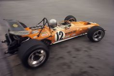 Bruce McLaren ,Gazometre Hairpin ,Monaco 1968. I had the honor to help bleed the brakes on this beauty . Thank You Tony