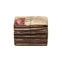 FRENCH ENVELOPE BOX RED | tabletop | accessories | Jayson Home &... ($22) ❤ liked on Polyvore featuring home, home decor, backgrounds, letters, fillers, accessories, misc, red home accessories, jayson home and french home decor
