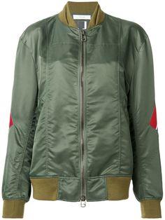 FACETASM stripe detail bomber jacket. #facetasm #cloth #jacket