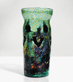 Artisti Barovier, Attribué à Vittorio Zecchin - Venetian Glass, Antique Glass, Murano Glass, Italian Art, Art Design, Flower Arrangements, Art Decor, Art Nouveau, Modern Art