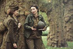 Wac and War Correspondent in France 1944  Women's Army Corps Korpus Armijny Kobiet USA