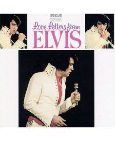 "CD42: ELVIS COLLECTION ALBUM ""LOVE LETTERS "" (CD 40 sur 57 / présentatio..."