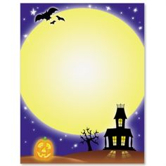 Halloween Stationery, Spooky House, x 25 Count Loteria Cards, Fall Clip Art, Spooky House, Halloween Party Invitations, Love Holidays, Print Box, Borders For Paper, Photo Logo, Halloween Kids