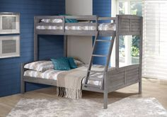 Tree House Twin Over Full Bunk Bed