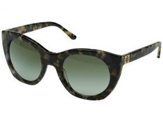 Tory Burch 0TY7097 (Pearl Tokyo Tortoise/Green Gradient) Fashion Sunglasses
