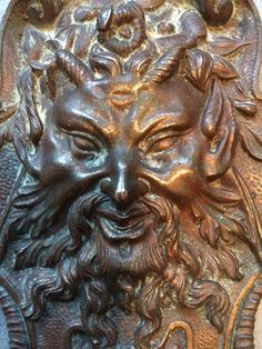 Antique french 19 century bronze decoration by Albanegalery