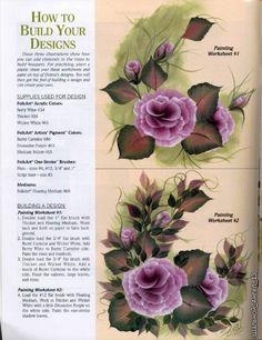 Panting rose for home decor ~ Craft , handmade blog