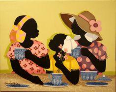 Cassandra Gillens - 15 Artworks, Bio & Shows on Artsy African American Artist, American Artists, African Art, Mary Engelbreit, Black Art Pictures, Black Artwork, Afro Art, Community Art, Art Museum