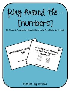 Ring Around the...numbers! Free download!