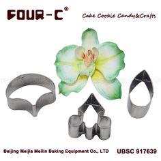 Phalaenopsis Moth Orchid  petal flower cutter, cake decorating tools, fondant mold/tools/cutter,cupcake mold baking